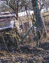 Vzpěry sloupů na zemních vrutech