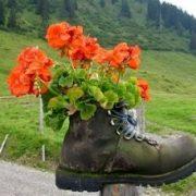 Správná obuv zahrádkáře