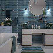Úložný prostor je zapotřebí i v koupelně